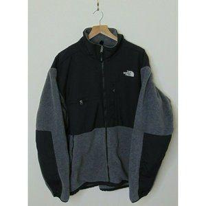 North Face Xl Denali Polartec Fleece Jacket Gray